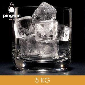 lód w kostkach łódx