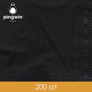 Serwetki czarne 200szt