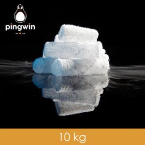 suchy lód 10 kg pingwin łódzka fabryka lodu